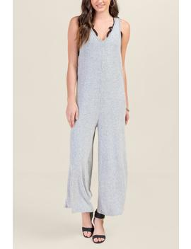 Angelina Racerback Knit Jumpsuit by Francesca's