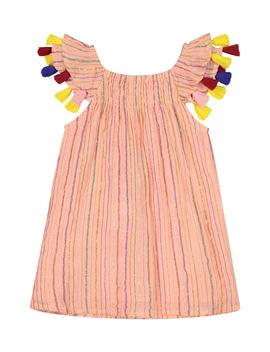 Metallic Stripe Dress by Masala Baby
