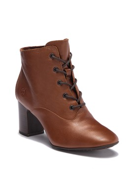 Magpie Leather Bootie by Born