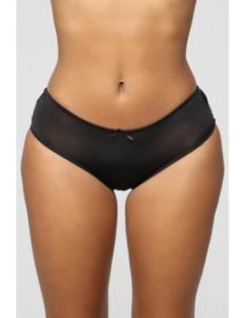 Win The Lace Hipster Panty   Black by Fashion Nova