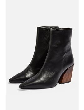 Henley Western Boots by Topshop