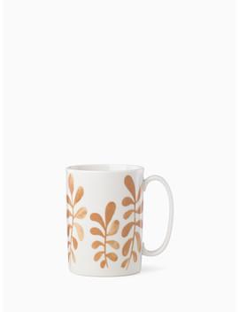 Sienna Lane Floral Accent Mug by Kate Spade