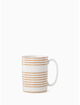Sienna Lane Striped Accent Mug by Kate Spade