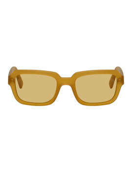 Yellow The Hustler Sunglasses by Viu