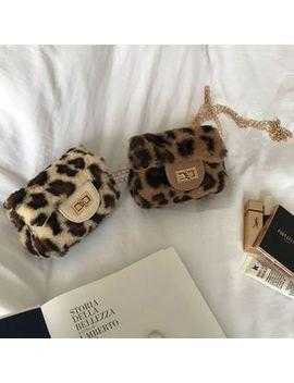 Serendipitous   Leopard Chain Strap Crossbody Bag by Serendipitous