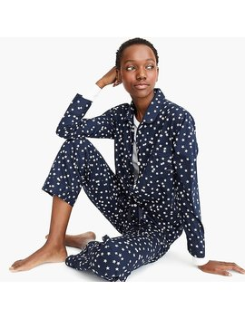Vintage Pajama Set In Constellations by J.Crew