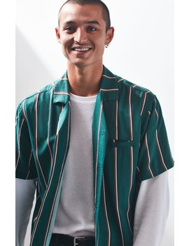 Insight Signal Stripe Camp Shirt by Pacsun