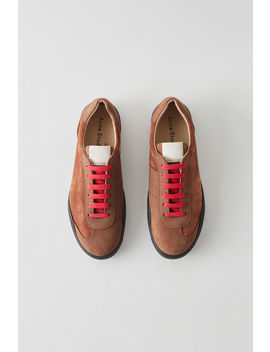 Minimal Sneakers Brown/Black by Acne Studios