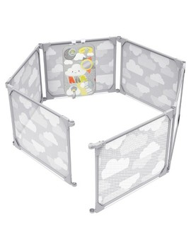 Skip Hop Playcation Expandable Enclosure   Gray by Skip Hop