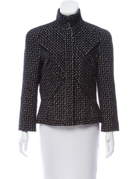 Abstract Angora Blend Jacket by Narciso Rodriguez