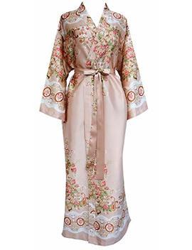 Jana Jira Women's Long Ankle Length Robe For Women Plus Size Nightgowns by Jana Jira