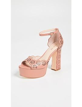 Jenelle Platform Sandals by Rachel Zoe