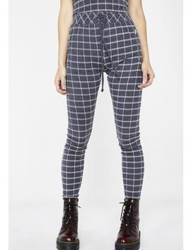 Simple Plaid Demi Leggings by Wildfox Couture