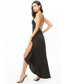 Strappy High Low Dress by Forever 21
