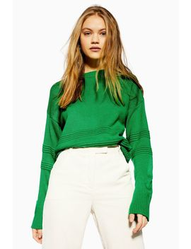Ottoman Detailed Jumper by Topshop