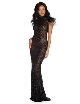 Milani Formal Open Back Dress by Windsor