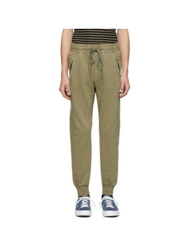 Beige Restore Trax Lounge Pants by Ksubi