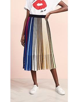 Vertical Rib Skirt by Kenzo