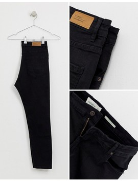 Pull&Bear Join Life Carrot Fit Jeans In Black by Pull&Bear