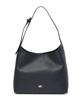 Junie Medium Leather Hobo Bag by Michael Michael Kors