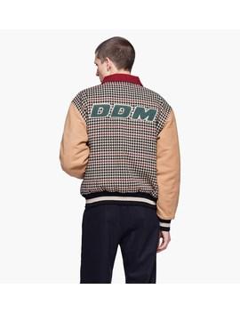 Houndstooth Varsity Jacket by Drôle De Monsieur