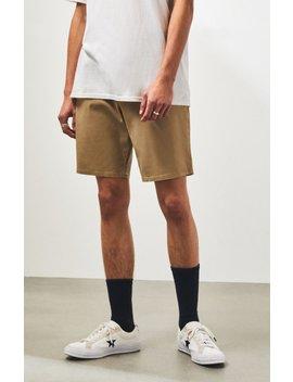 Pac Sun Khaki Slim Fit Chino Shorts by Pacsun