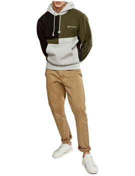 Rev Weave Hoodie Colourblock by Champion Youth