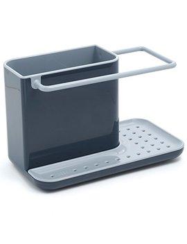Joseph Joseph 85022 Sink Caddy Kitchen Sink Organizer Sponge Holder Dishwasher Safe, Regular, Gray by Joseph Joseph
