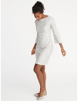 Textured Marled Sheath Dress For Women by Old Navy