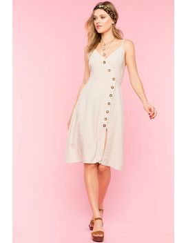 Camille Button Side Dress by A'gaci