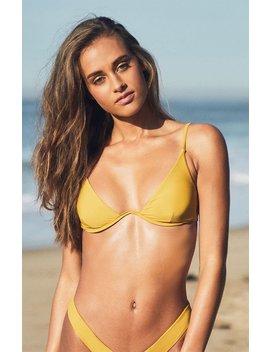 Charlie Holiday Sundowner Bra Bikini Top by Pacsun