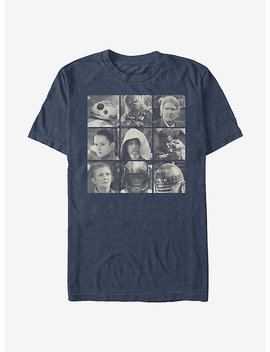 Star Wars Rebel Heroes T Shirt by Hot Topic