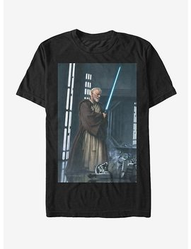 Star Wars Obi Wan Kenobi Lightsaber T Shirt by Hot Topic