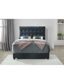 Charlton Home Seese Upholstered Panel Bed by Charlton Home