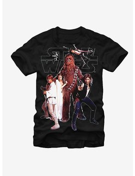 Star Wars Rebel Squad T Shirt by Hot Topic