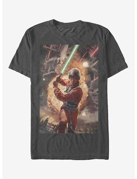 Star Wars Luke Skywalker Ready T Shirt by Hot Topic