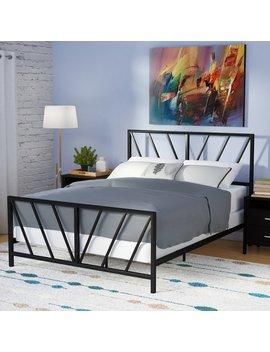 Zipcode Design Gent Patterned Queen Panel Bed & Reviews by Zipcode Design