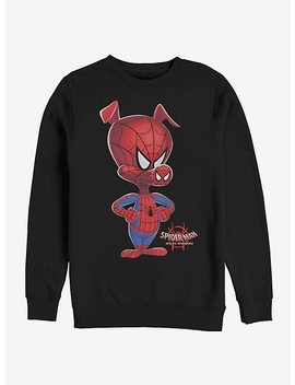 Marvel Spider Man Spider Verse Big Ham Sweatshirt by Hot Topic