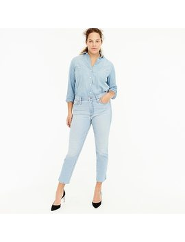 Vintage Straight Jean With Slit Hems by J.Crew