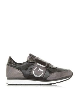 Sunnygym Logo Bar Runner Trainers by Guess