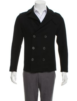 Raw Edge Wool Jacket by Lanvin