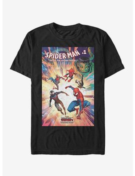 Marvel Spider Man Spider Verse Nov18 T Shirt by Hot Topic