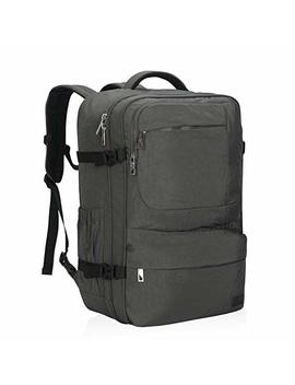 Hynes Eagle 44 L Carry On Backpack Flight Approved Compression Travel Pack Cabin Bag, Black 2018 by Hynes Eagle