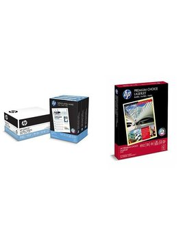 Hp Printer Paper, Student Value Pack   Copy And Presentation Paper In One (112090 113500) by Hp Paper