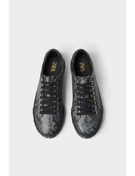 Pantofi Sport GravaŢi Negri  PantofibĂrbaŢi New Collection by Zara