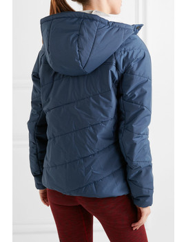 Toast Hooded Quilted Shell Jacket by Lndr
