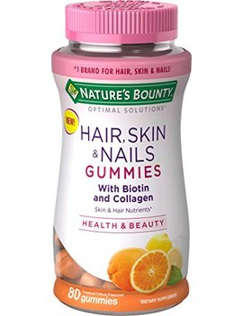 Nature's Bounty Optimal Solutions Hair, Skin & Nails With Biotin And Collagen, 80 Count by Nature's Bounty