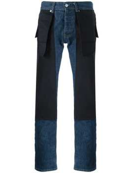 Inside Out Slim Jeans by Helmut Lang Vintage