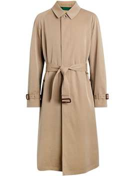 Gabardine Car Coat by Burberry