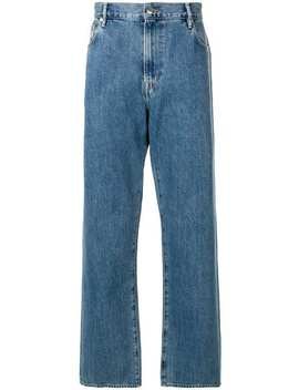 Wide Leg Jeans by Burberry